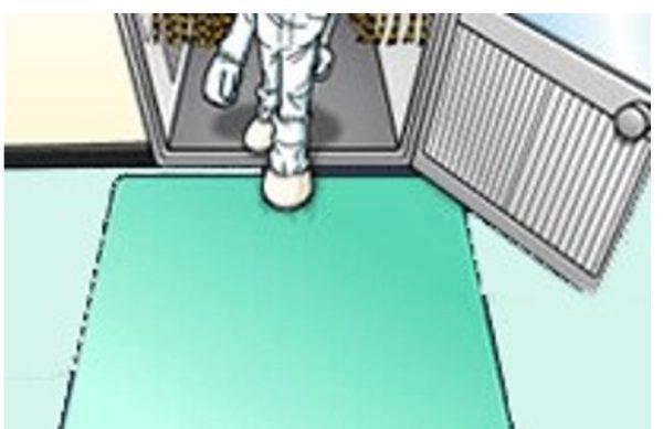 静電防止床